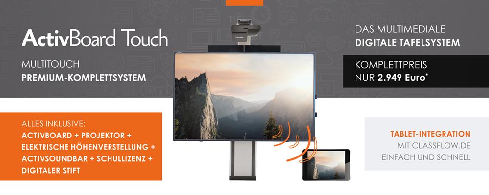 ActivBoard Touch Premium Preis