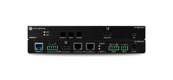 Atlona AT-OME-RX21 HDBaseT Receiver, Switcher